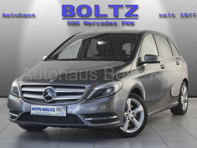 Mercedes-Benz B 250 Sport Leder BiX Sitzh. Parktr. Navi, Jahr 2012, petrol