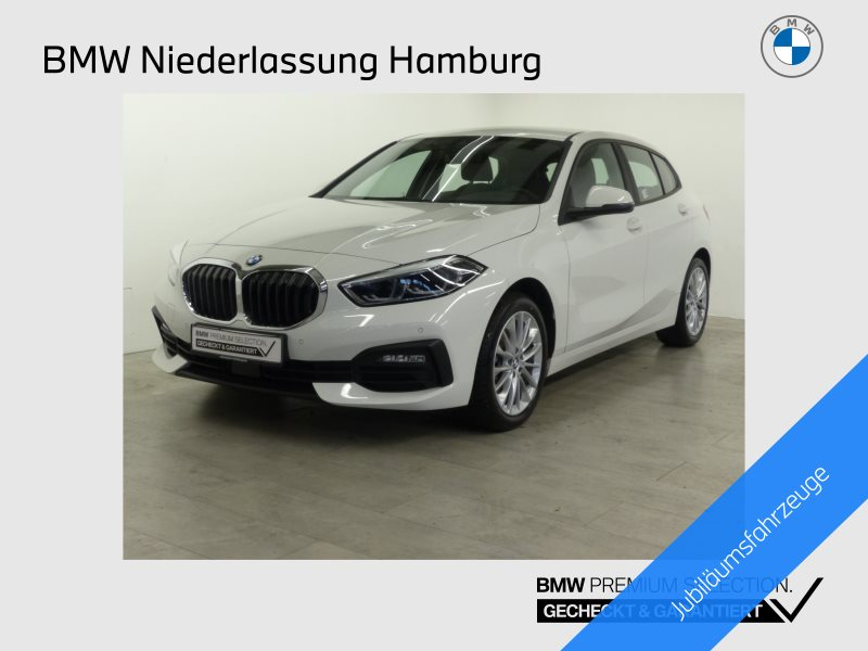BMW 116d Advantage HiFi DAB LED Alarm Tempomat AHK, Jahr 2019, Diesel