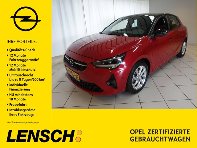 Opel Corsa F GS Line 1.2 Turbo AUT+MULTIMEDIA+RFK+LED, Jahr 2020, Benzin