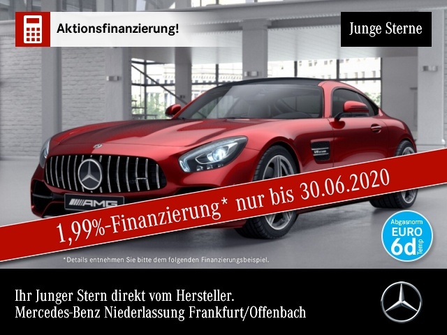 Mercedes-Benz AMG GT CP. Pano Burmester Totwinkel Keyless, Jahr 2019, Benzin
