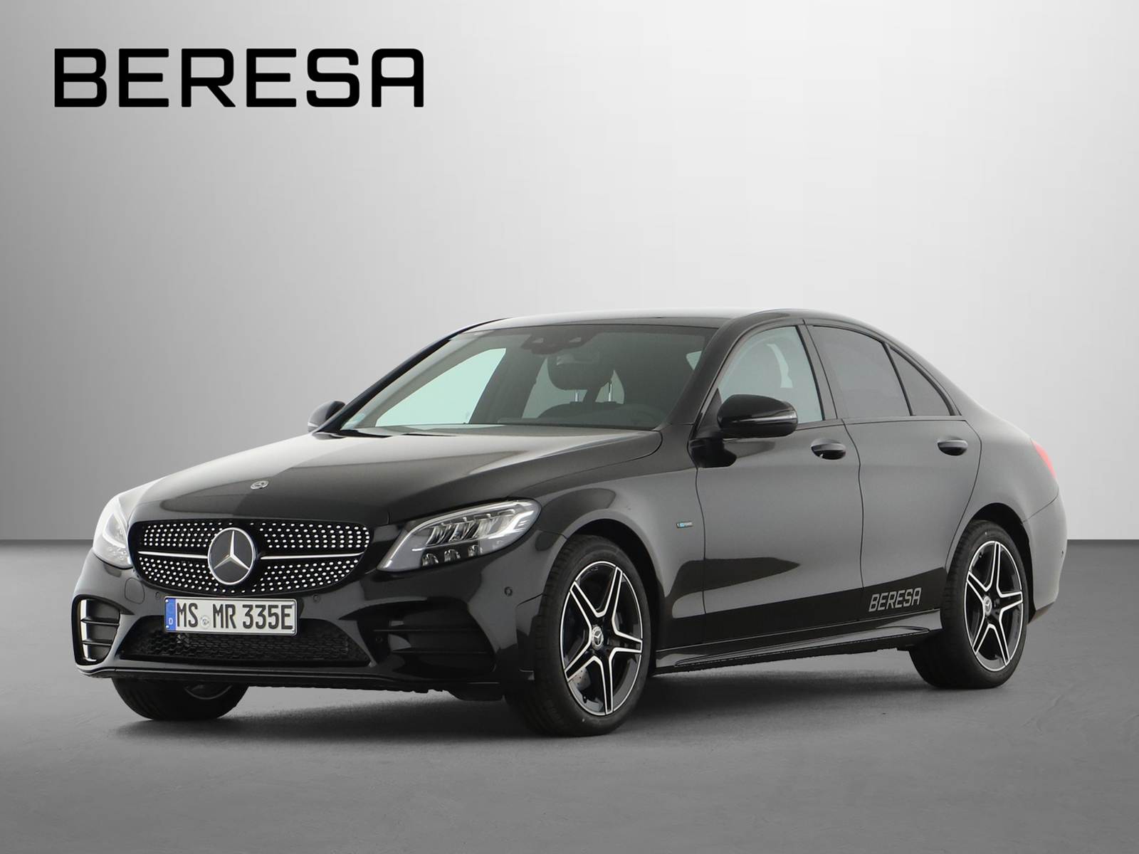 Mercedes-Benz C 300 de AMG Fahrassist. Night LED Kamera Navi, Jahr 2020, Hybrid_Diesel