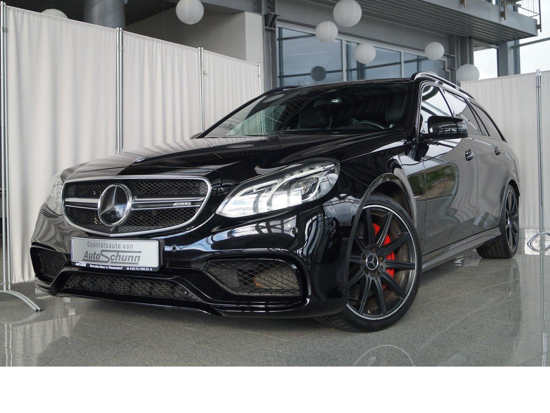 Mercedes-Benz E 63 AMG S 4M T DESIGNO-360°-PANO-KEYLESS-B&U, Jahr 2016, Benzin