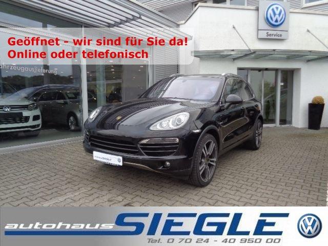 Porsche Cayenne 3.0d Navi*Xenon*Panorama-SD*21 Zoll*AHK, Jahr 2012, Diesel