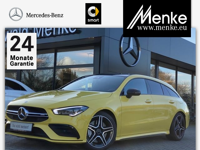 Mercedes-Benz AMG CLA 35 4M SB Distro,Burmester,Panorama, Jahr 2019, Benzin