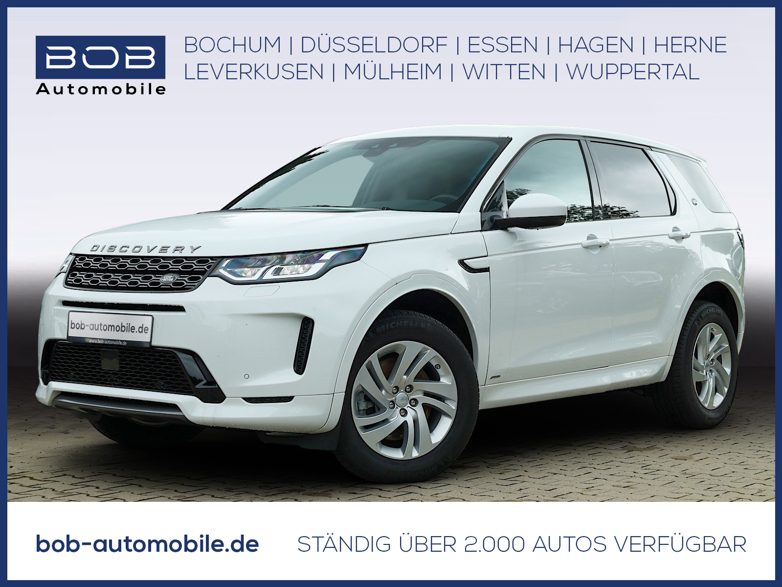 Land Rover Discovery Sport finanzieren
