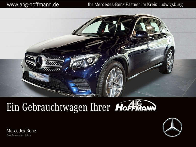 Mercedes-Benz GLC 350 d 4M AMG Comand LED Pano-Dach Kamera, Jahr 2017, diesel