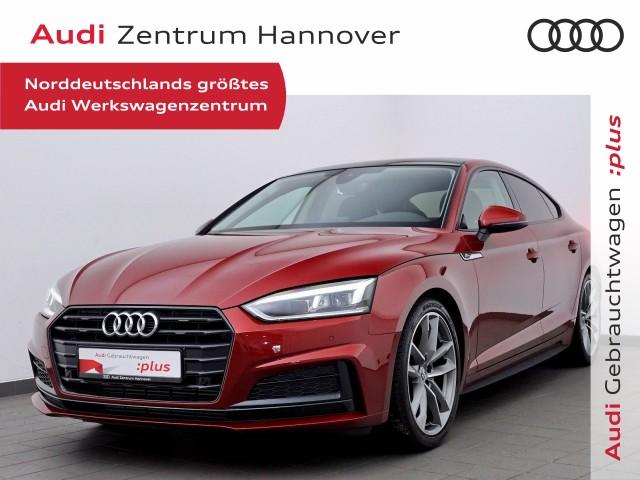 Audi A5 Sportback 40 TFSI S-line Selection LED Pano 19-Zoll b+O, Jahr 2019, Benzin