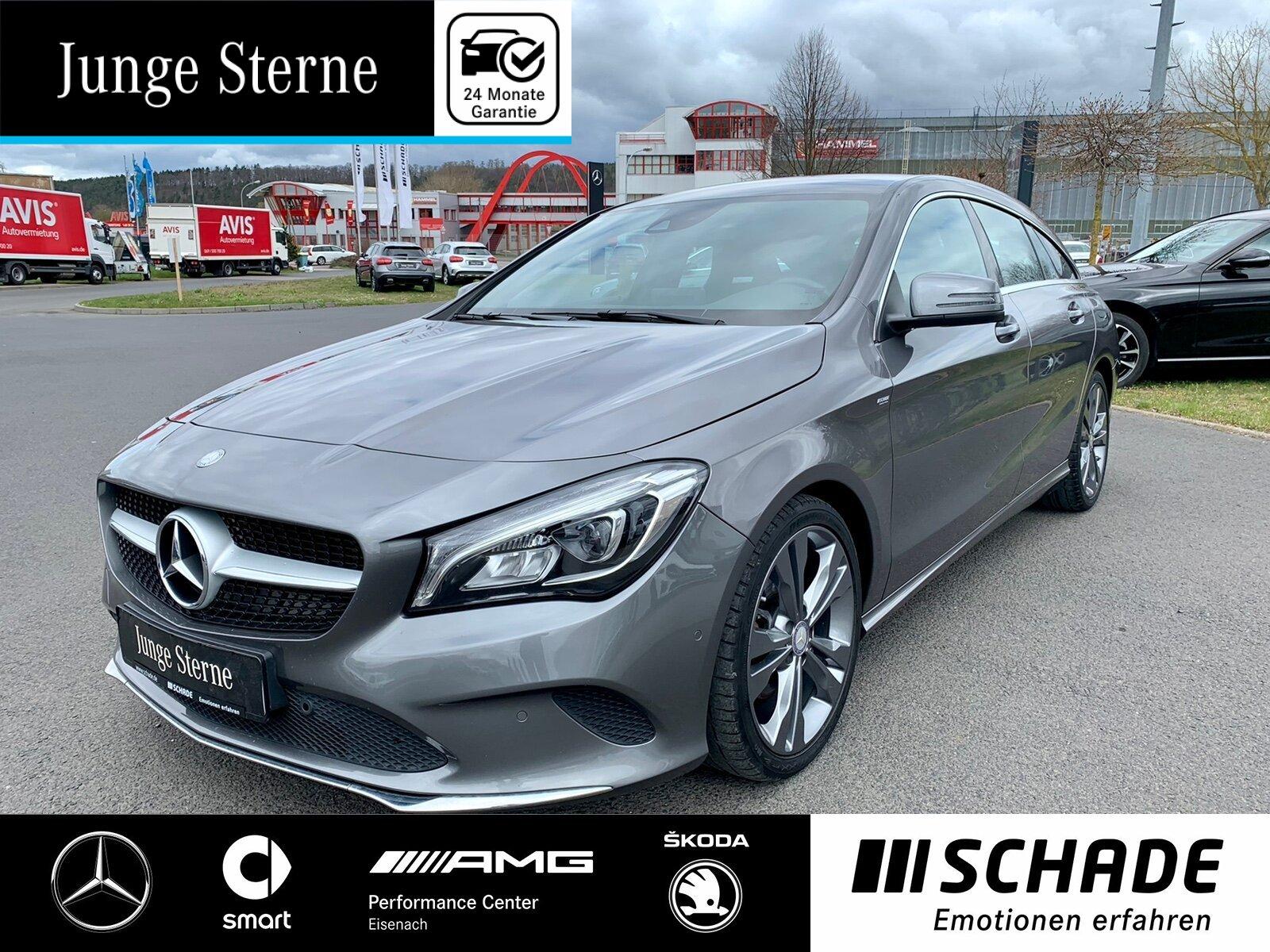 Mercedes-Benz CLA 200 SB Urban Comand*AHK*LED*el.Heckkl*Sitzhz, Jahr 2017, Benzin