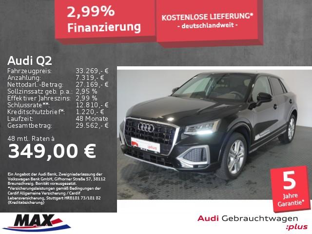 Audi Q2 35 TFSI ADVANCED LED+NAVI+KAMERA+ALU+TEMPOMAT, Jahr 2021, Benzin