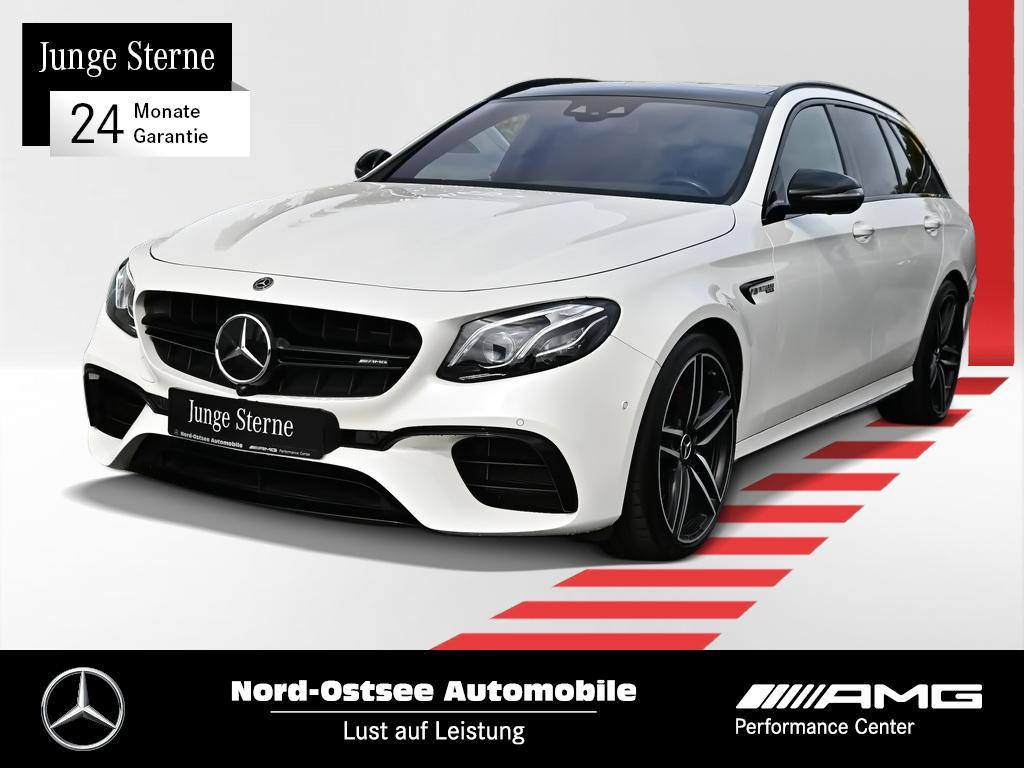 Mercedes-Benz E 63 S T AMG Comand 4M Drivers P. 360° Wide Pano, Jahr 2017, Benzin
