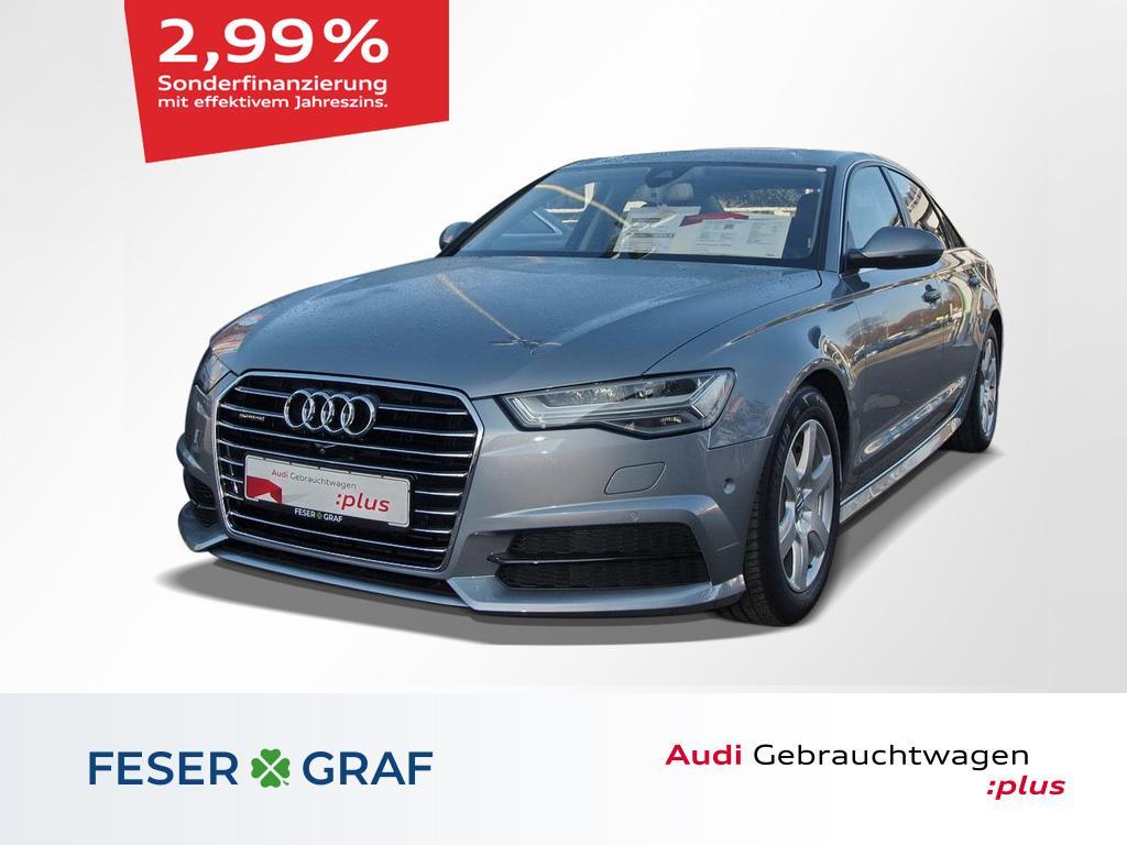 Audi A6 2.0 TFSI quattro Luftfederung/LED/GSD/Head, Jahr 2017, Benzin