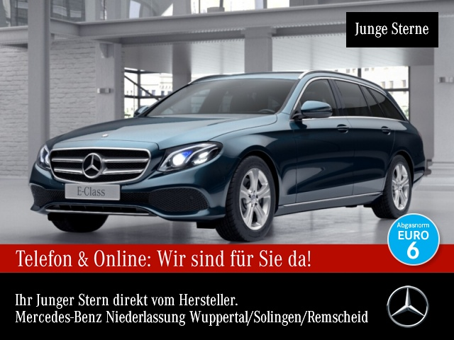Mercedes-Benz E 250 T Avantgarde WideScreen Multibeam Distr. PTS, Jahr 2016, Benzin