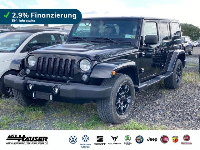 Jeep Wrangler Unlimited 3.6 V6 SMOKY MOUNTAIN LEDER, Jahr 2018, Benzin
