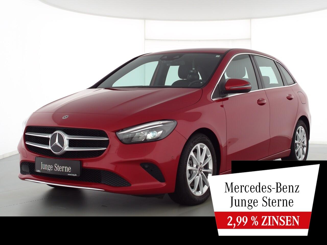 Mercedes-Benz B 200 d Progressive+MBUXHighEnd+LED-HP+EHeck+RFK, Jahr 2020, Diesel