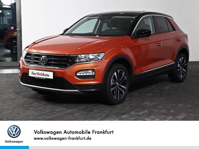 Volkswagen T-ROC 1.5 TSI Style FrontAssist Parklenkassistent Anschlussgarantie T-ROC 1.5 CL BT110 TSIM6F, Jahr 2020, Benzin