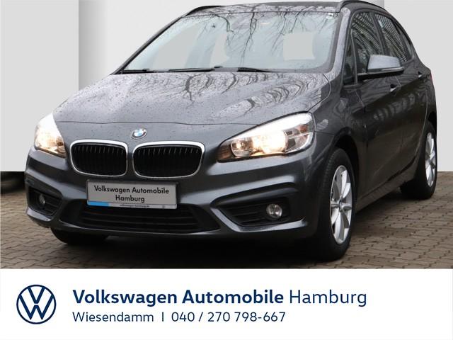 BMW 216d Active Tourer AHK abnehmbar Tempomat Klimaautomatik LM, Jahr 2015, Diesel