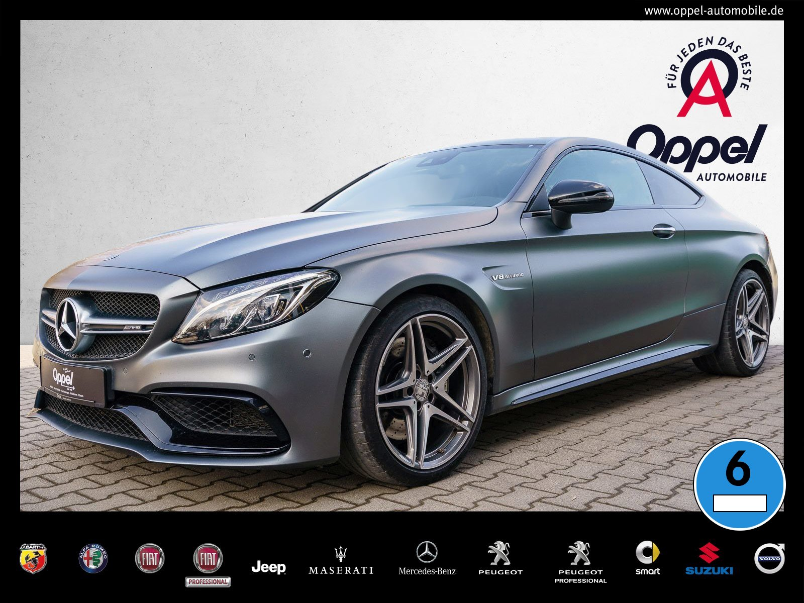 Mercedes-Benz C 63 AMG +AMG DRIVERŽS PACK+NAVI+PANORAMA+KAMERA, Jahr 2016, Benzin