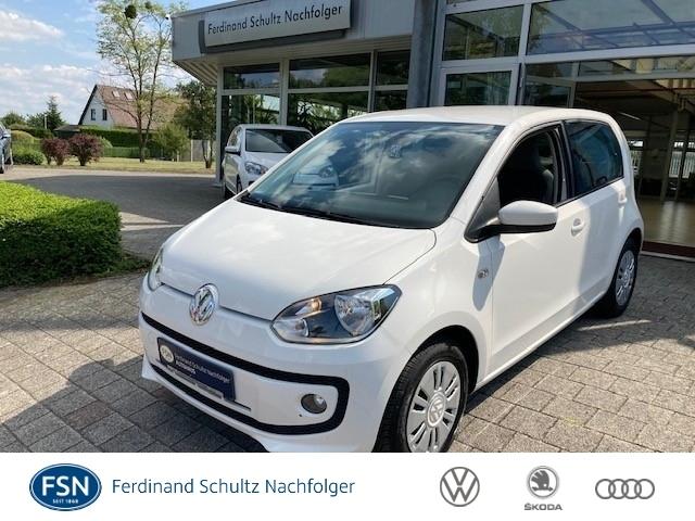 Volkswagen up! 1,0 move (EURO 6), Klima, SH, Navi, Jahr 2015, Benzin