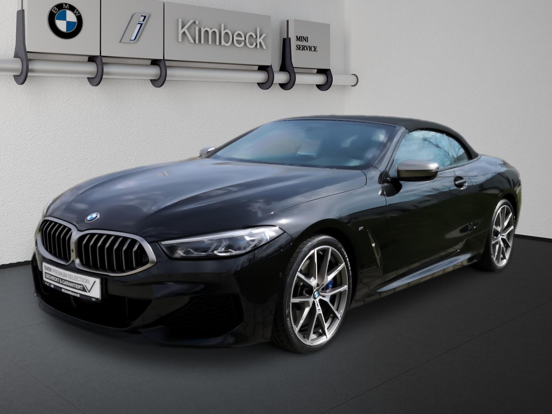 BMW M850i xDrive Cabrio Multifunktionssitz Integrall, Jahr 2020, Benzin