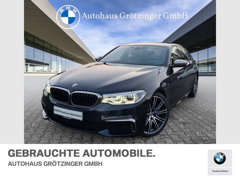 BMW M550i xDrive KOMFORTZUGANG+HEAD-UP+20, Jahr 2017, Benzin