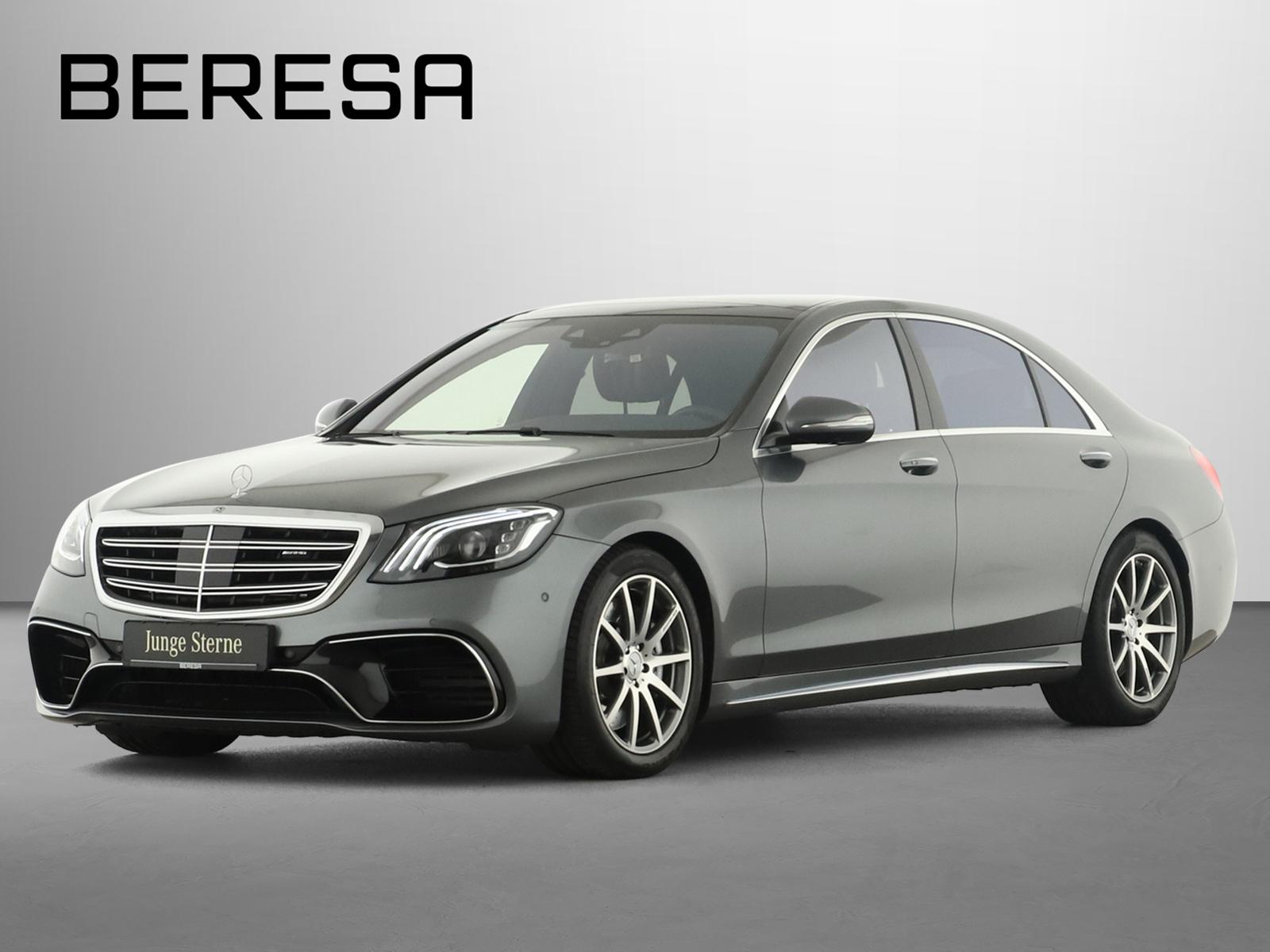 Mercedes-Benz S 63 AMG 4M+ Lang Sitzklima HUD Burmester Comand, Jahr 2018, Benzin