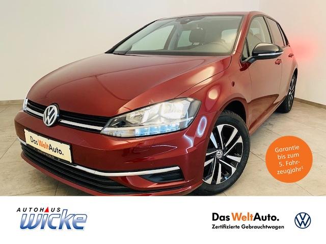 Volkswagen Golf VII 1.0 TSI IQ.DRIVE ACC Navi Klima Sitzhzg, Jahr 2019, Benzin