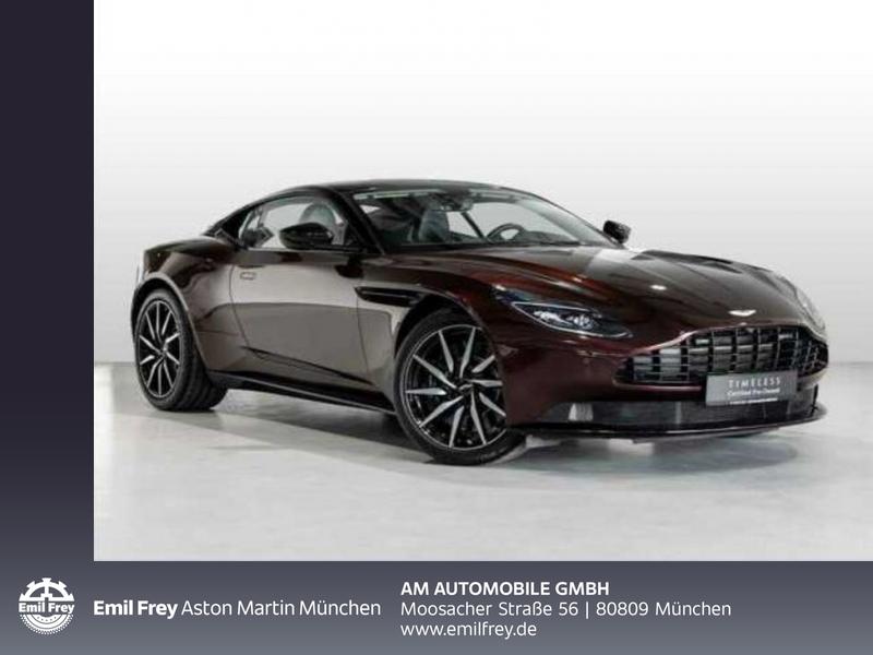 Aston Martin DB11 V8 Coupe - verführerisch schön -, Jahr 2019, Benzin
