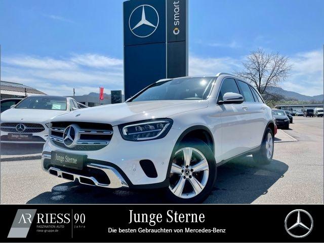 Mercedes-Benz GLC 200 d 4MATIC Navi LED MBUX AHK Kamera PTS 18, Jahr 2020, Diesel