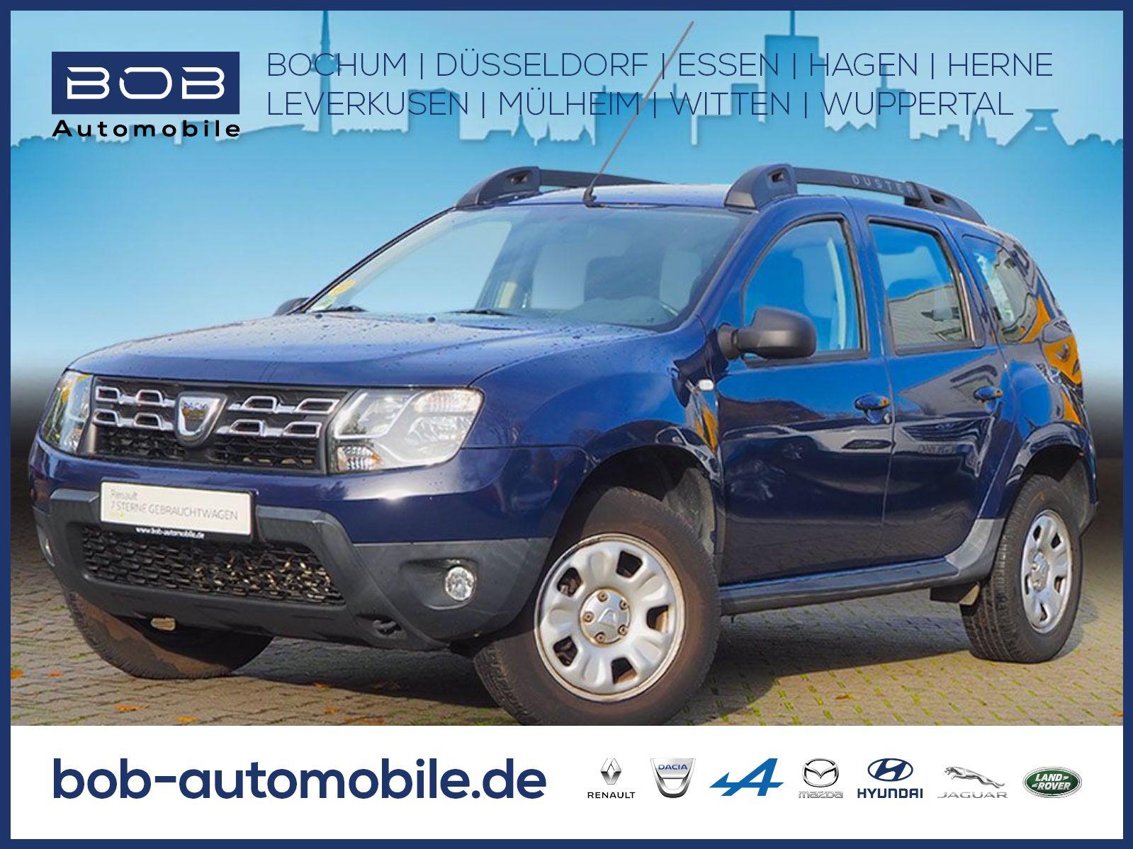 Dacia Duster Laureate 4WD ZV KLIMA Freisprech., Jahr 2013, Benzin
