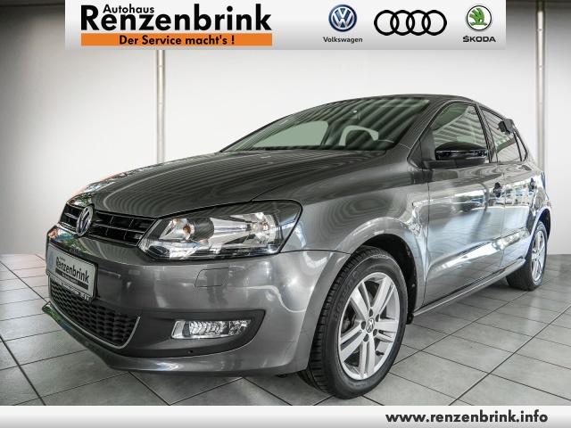 Volkswagen Polo Match Klima Einparkhilfe el. Fenster, Jahr 2013, Benzin