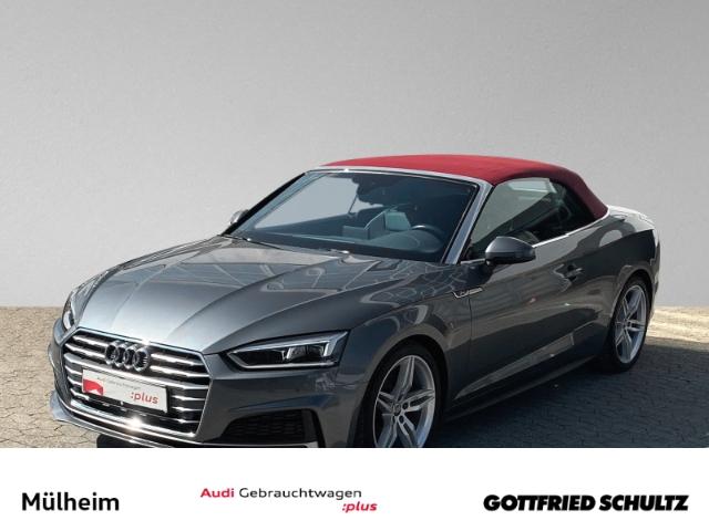 Audi A5 Cabrio 2.0 TFSI NAVI S-LINE MUFU SIH EPH LED, Jahr 2018, Benzin