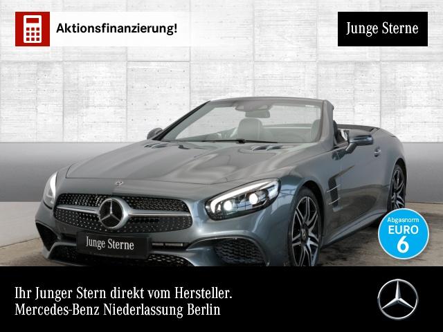 Mercedes-Benz SL 400 AMG Pano Harman Distr+ Sitzkl. ILS LED, Jahr 2019, petrol