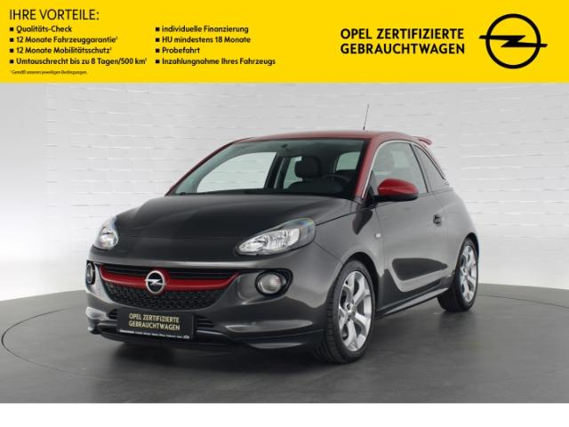 Opel Adam S TURBO OPC LINE+BLUETOOTH+TEMPOMAT+START/-STOP+LED-TAGFAHRLICHT, Jahr 2016, Benzin
