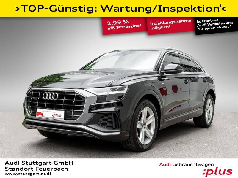 Audi Q8 50 TDI quattro S line LED AHK AIR Navi 20Zoll, Jahr 2019, Diesel