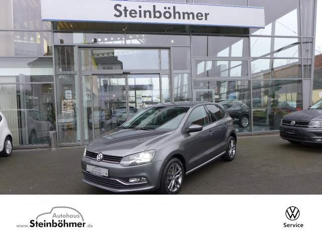 Volkswagen Polo ALLSTAR Plus 1.0l LED Sitzhz. Parkpilot GRA, Jahr 2017, Benzin