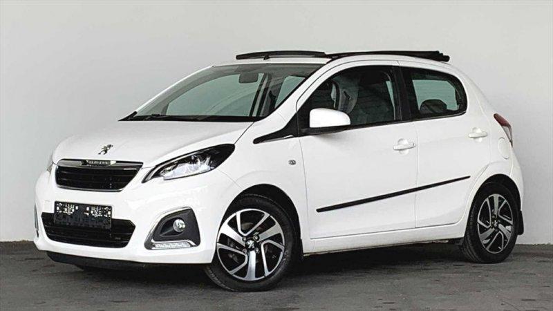 Peugeot 108 1,0 VTi 5tg Faltdach Klima Sitzheizung, Jahr 2015, Benzin
