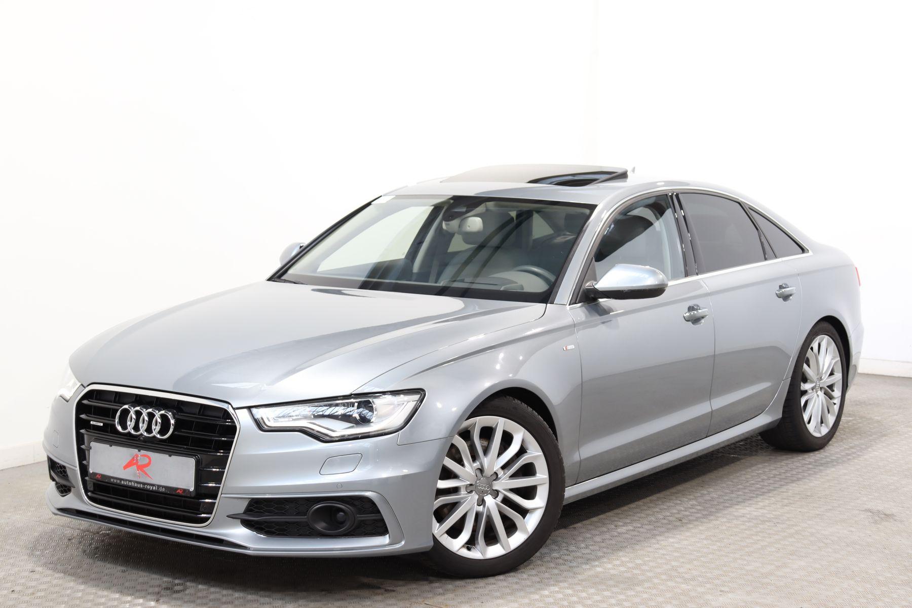 Audi A6 3.0 TDI qu S LINE STANDHEIZ.,NACHTSICHT,HUD, Jahr 2014, Diesel