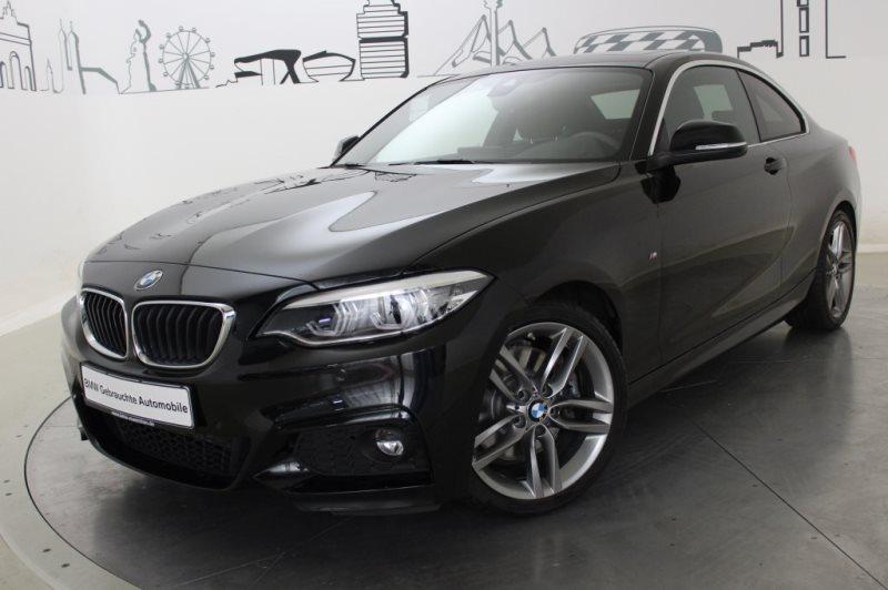 BMW 230i Coupé Sportpaket LED GSD Navi Prof. RTTI, Jahr 2017, Benzin
