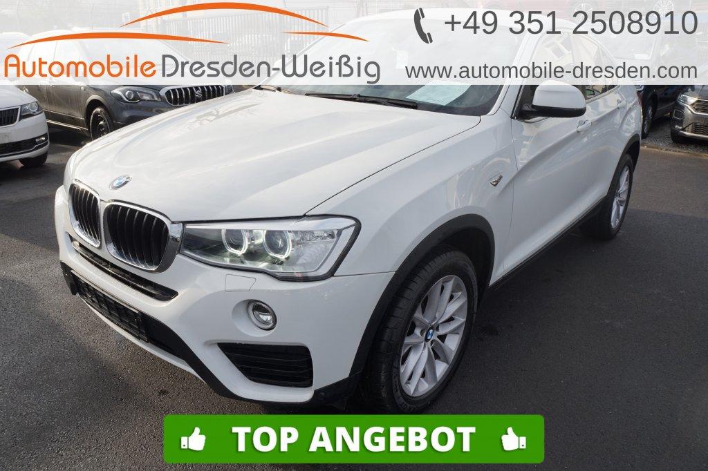 BMW X4 xDrive20d Advantage*Navi*Kamera*HiFi*AHK*, Jahr 2017, Diesel