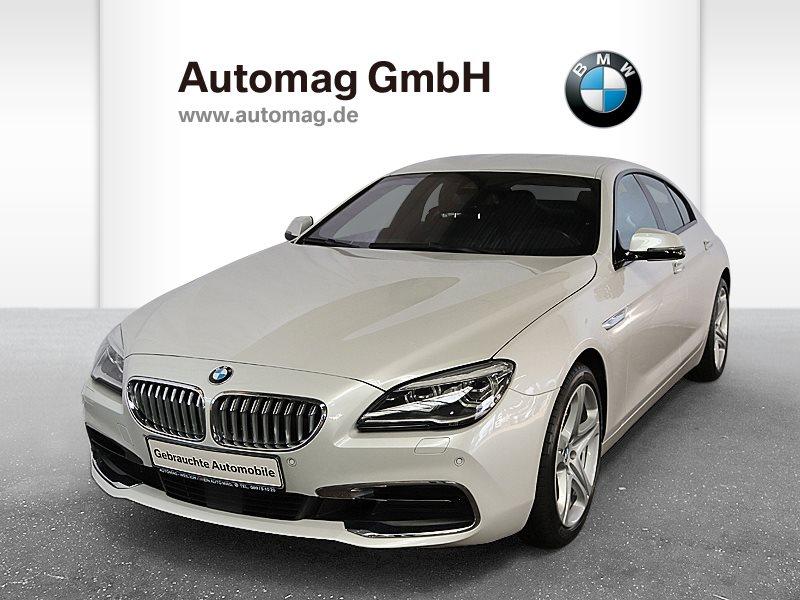 BMW 650i 1.Hd.*Scheckheft*WieNeu!*12.800Km*DDC*Concierge, Jahr 2016, petrol