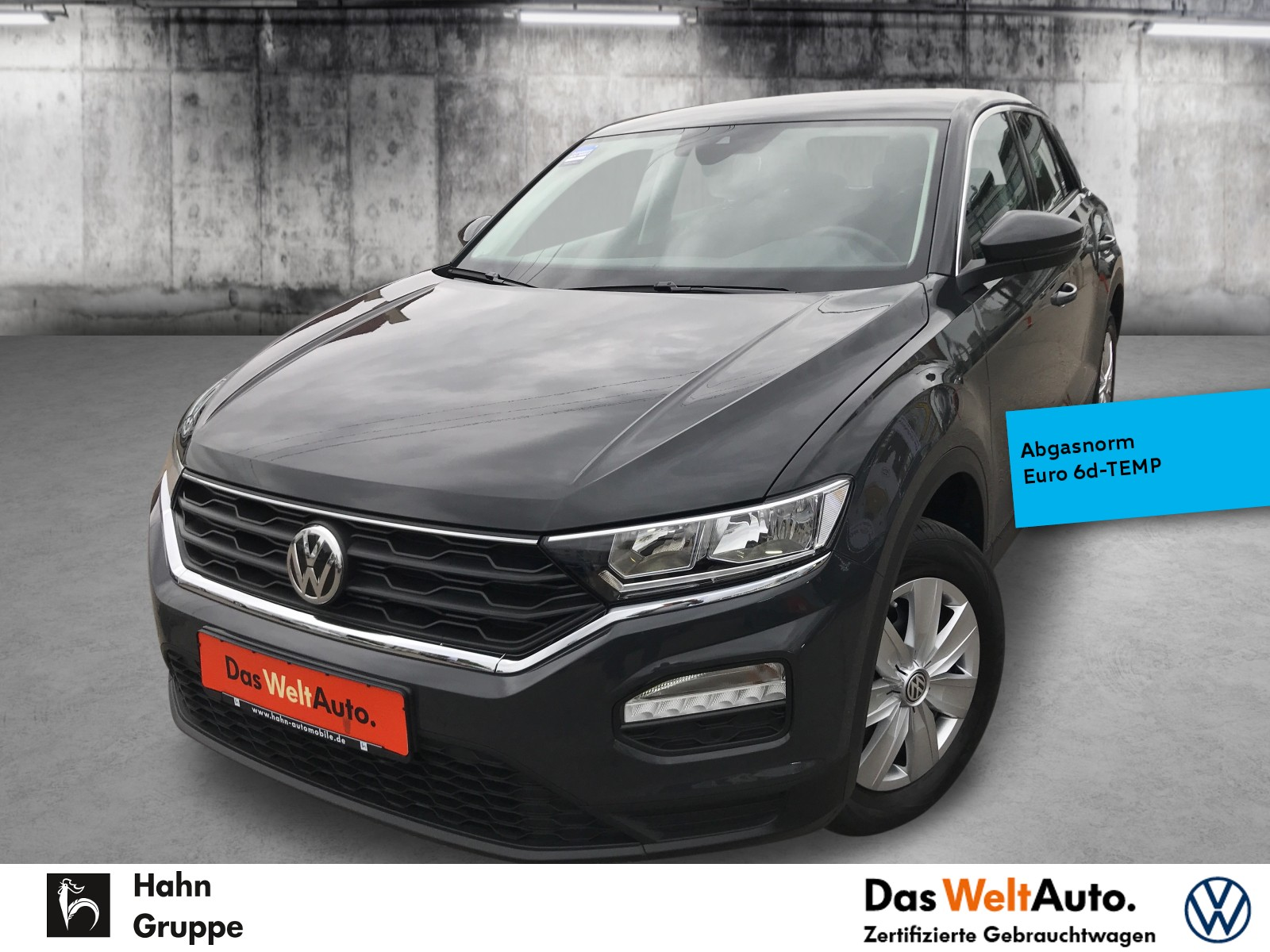 Volkswagen T-ROC Basis 1.0TSI Klima Einpark Front Assist, Jahr 2019, Benzin
