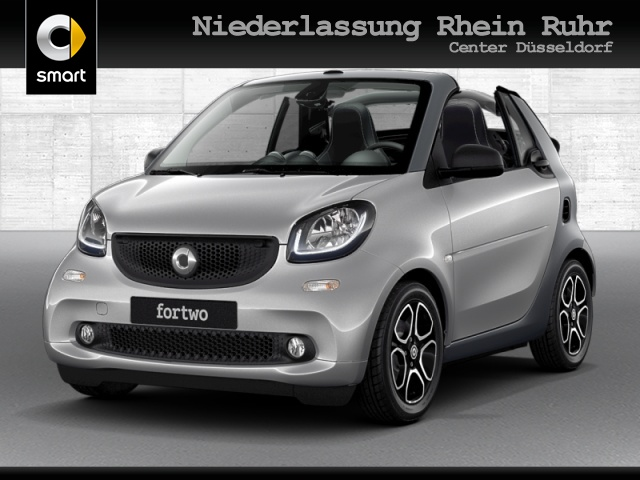 smart fortwo cabrio 52kW prime DCT cool&Media SHZ LED, Jahr 2019, Benzin