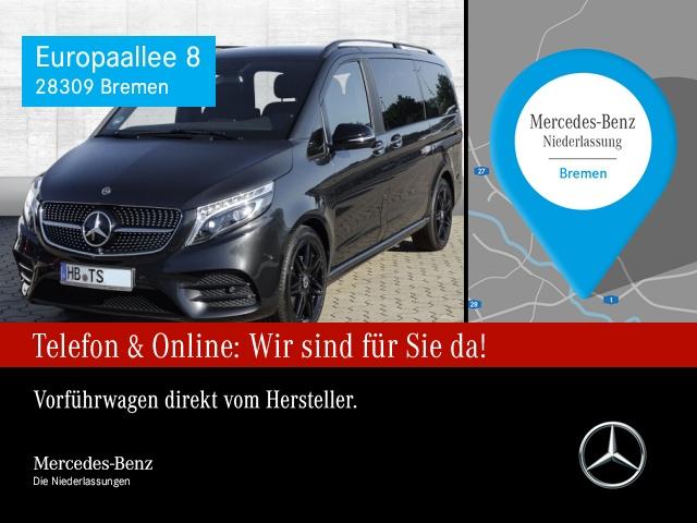 Mercedes-Benz V 250 d lang Edition AMG Pano ILS LED AHK Night 9G, Jahr 2020, Diesel