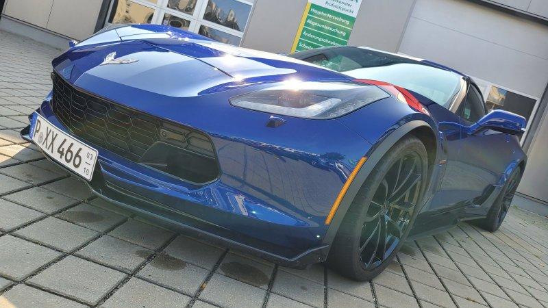 Corvette C7 Grand Sport Automatik, Jahr 2018, Benzin