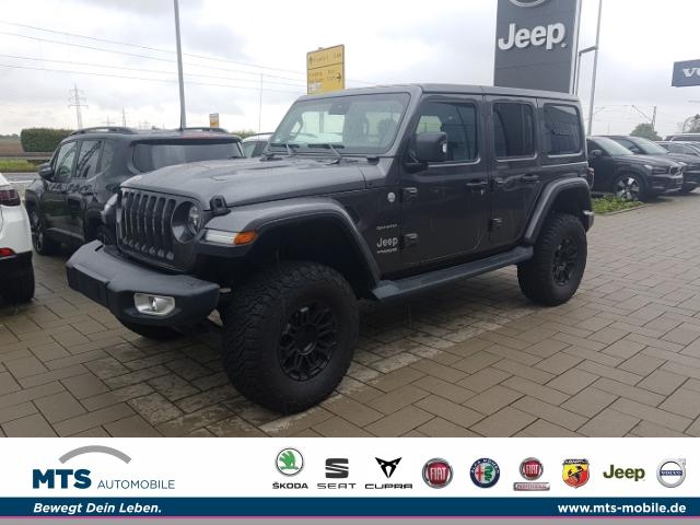 Jeep Wrangler Unlimited Sahara 2.0 T-GDI EU6d-T DUAL TOP, AHK, Jahr 2019, Benzin