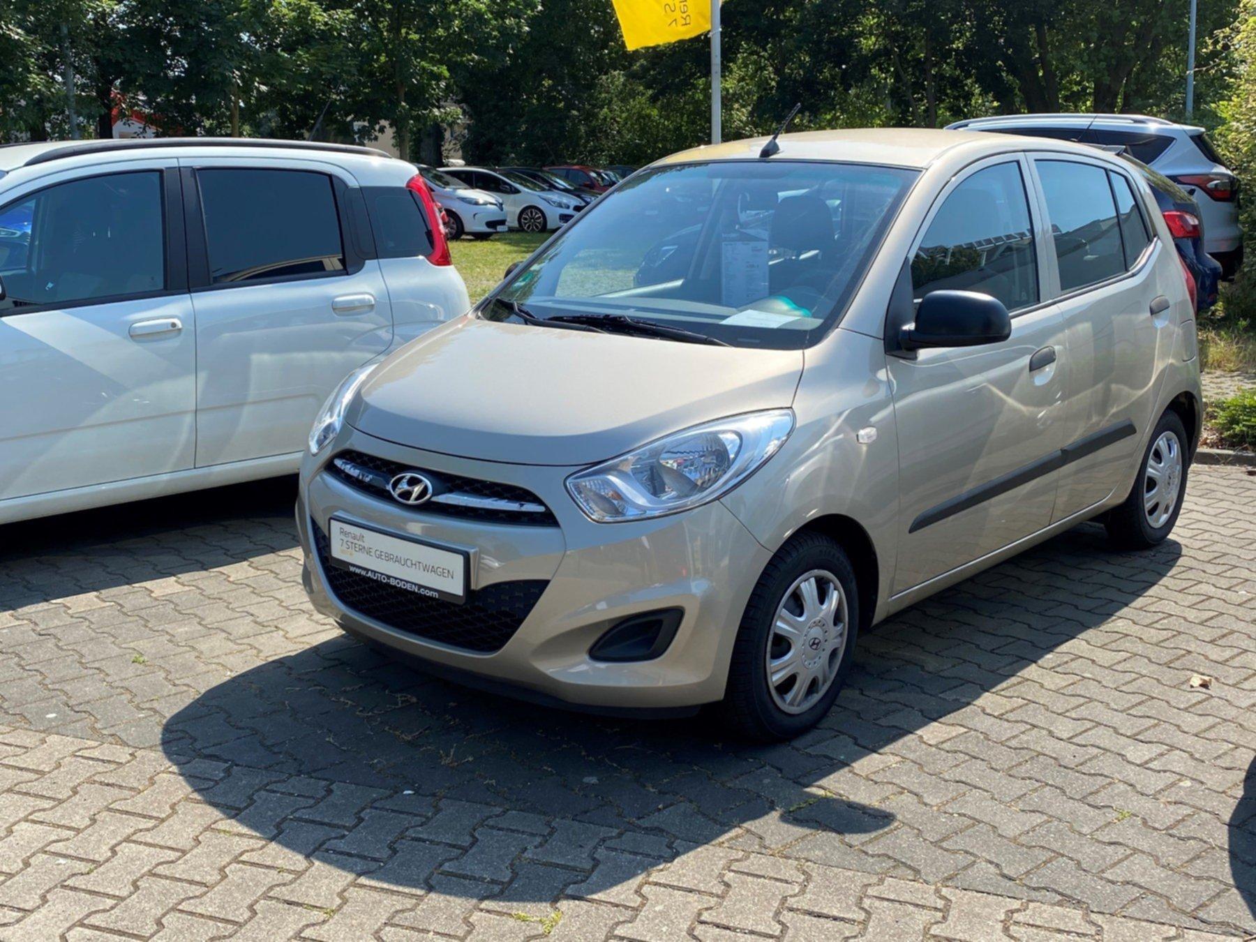 Hyundai i10 1,1 Classic KLIMA ZV Gepäckraumabdeckung eF, Jahr 2013, Benzin