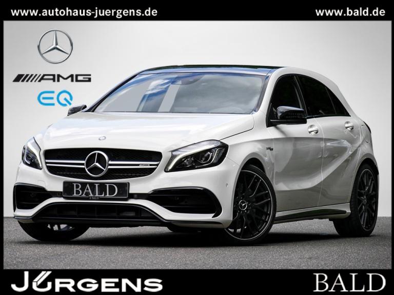 Mercedes-Benz A 45 AMG 4M Performance/Pano/Cam/Memo/Night/19', Jahr 2016, Benzin
