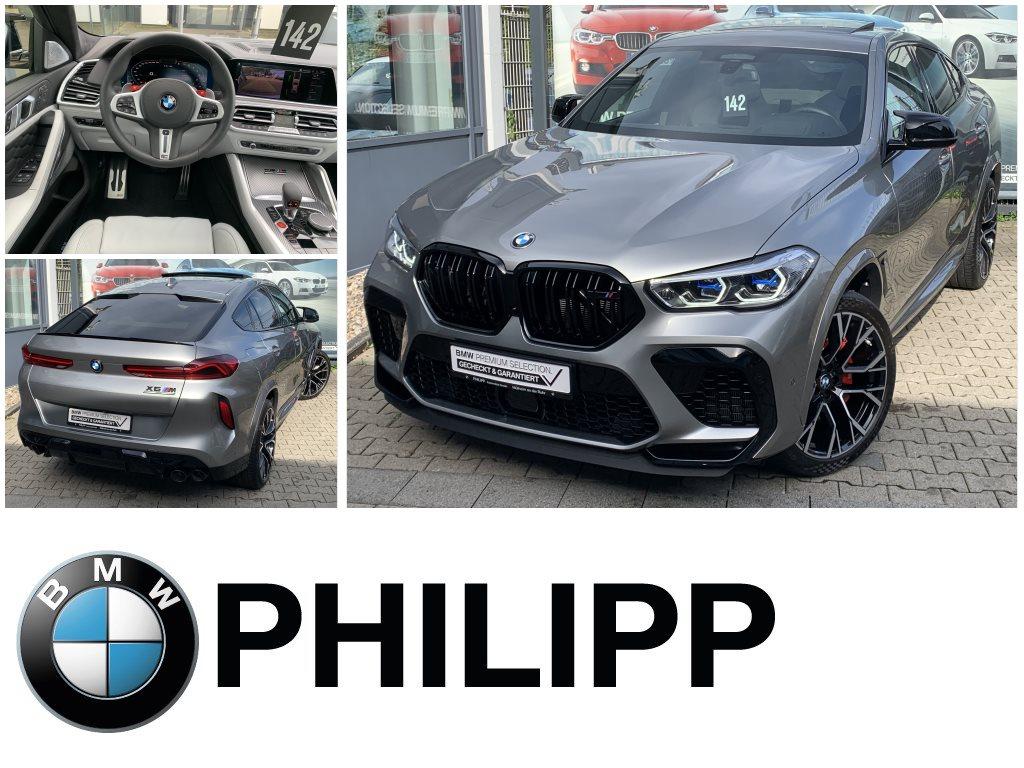 BMW X6 M Competition Laser B&W AHK Sky Massage, Jahr 2021, Benzin