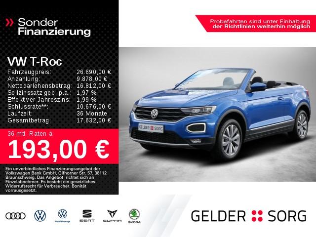 Volkswagen T-Roc Cabriolet 1.0 TSI Style LED*AHK*ACC*APP*, Jahr 2020, Benzin