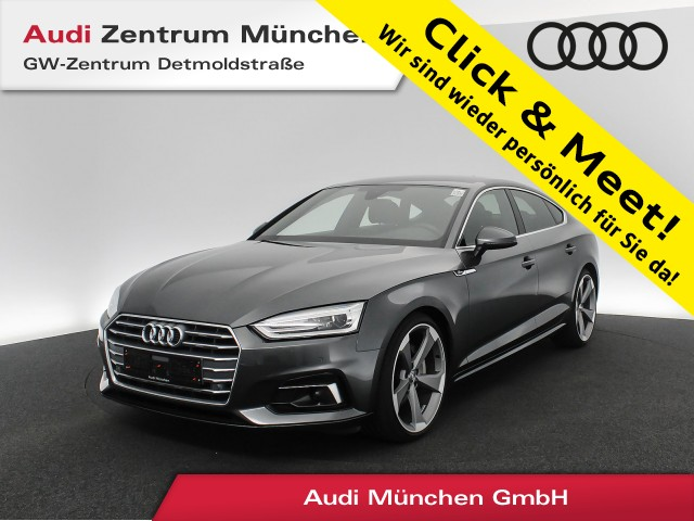 "Audi A5 Sportback 40 TDI Sport S line 20"" Assistenz Teilleder Navi Xenon PDCplus S tronic, Jahr 2019, diesel"